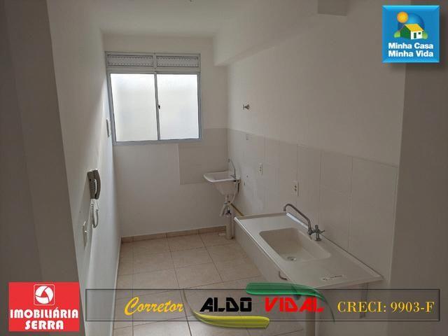 ARV 96 Apartamento Novo 2 Quartos, Condomínio Club. Carapebus, Serra - ES - Foto 2