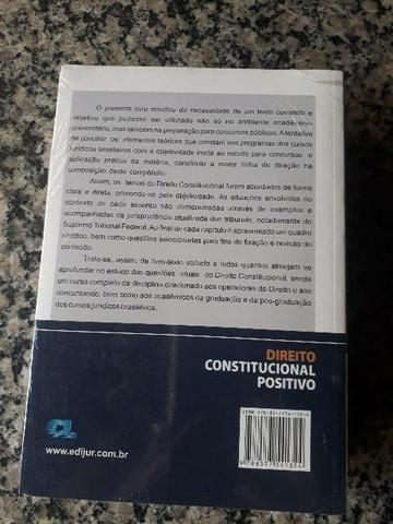 DIREITO CONSTITUCIONAL POSITIVO - 2. ED. - Foto 3