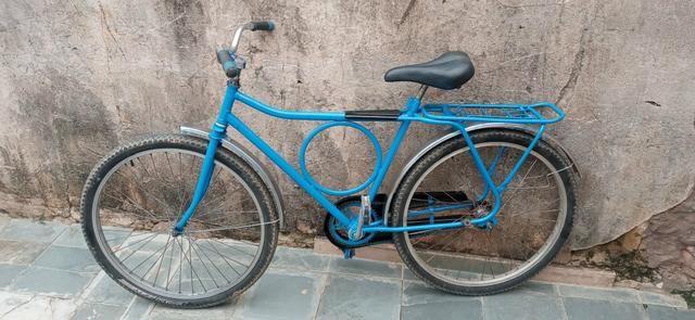 Troco ou vendo bicicleta monark cachinbada original - Foto 4