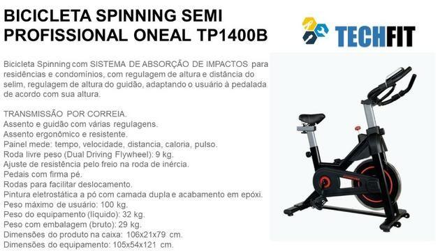 Bike - bicicleta de spinning oneal
