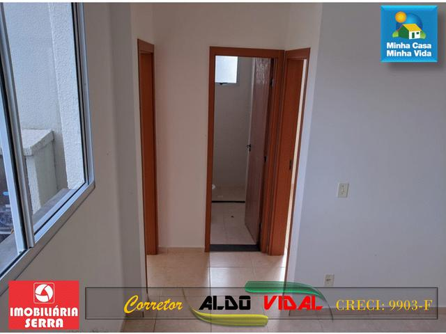 ARV 96 Apartamento Novo 2 Quartos, Condomínio Club. Carapebus, Serra - ES - Foto 3