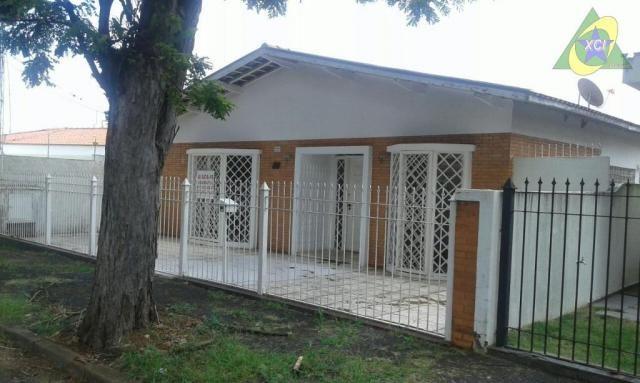 Casa residencial para locação, Jardim Chapadão, Campinas.
