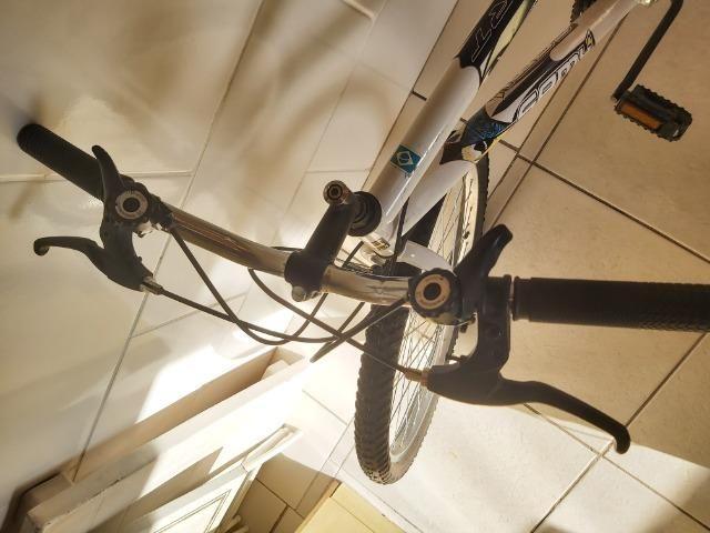 Bicicleta nova (pouco usada) - Foto 2
