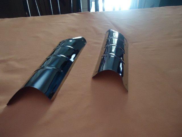 Acessório bate pé de coluna do fusca ( inox ) - Foto 3