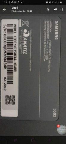 Vendo notebook Samsung  - Foto 3