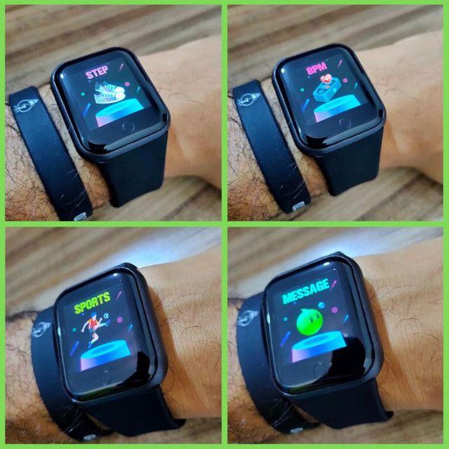 Relógio Inteligente Fit Sono Batimento Cardiaco  - Foto 4