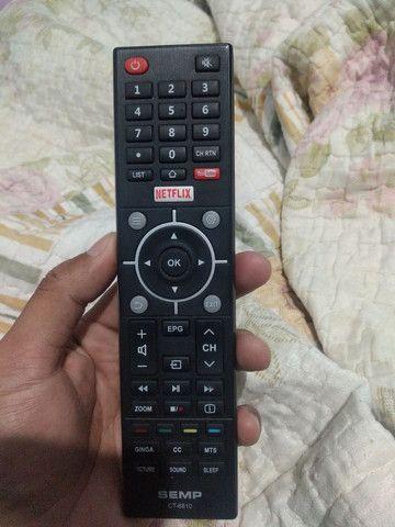 Smart tv 49 Semp 4k - Foto 4
