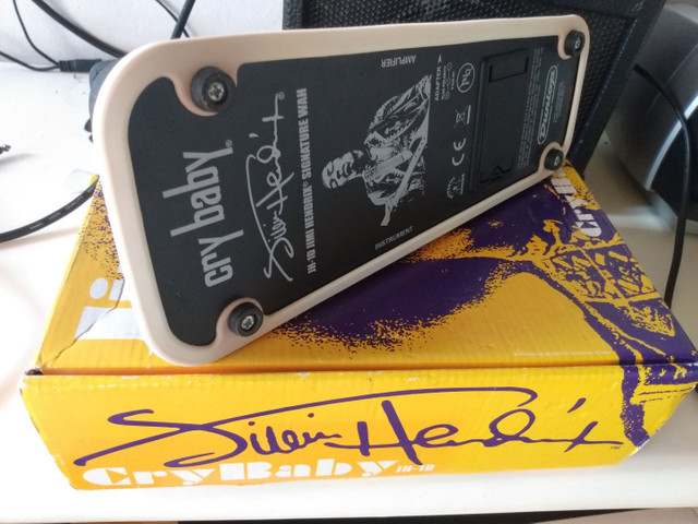 Pedal Cry Baby Dunlop Jimi Hendrix USA - Foto 2