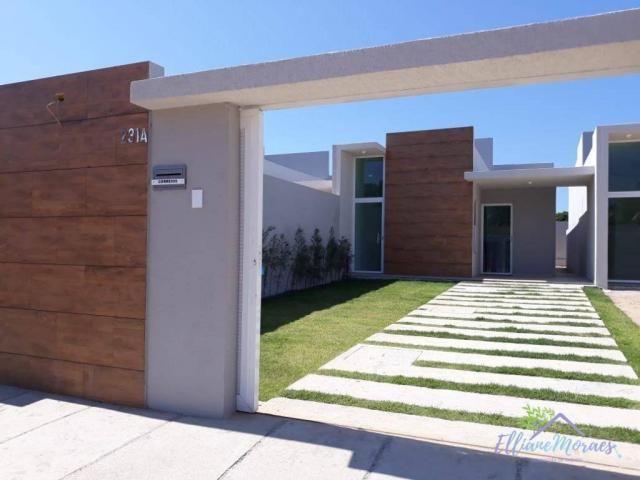 Casa com 3 dormitórios à venda, 85 m² por R$ 249.000,00 - Encantada - Eusébio/CE - Foto 18