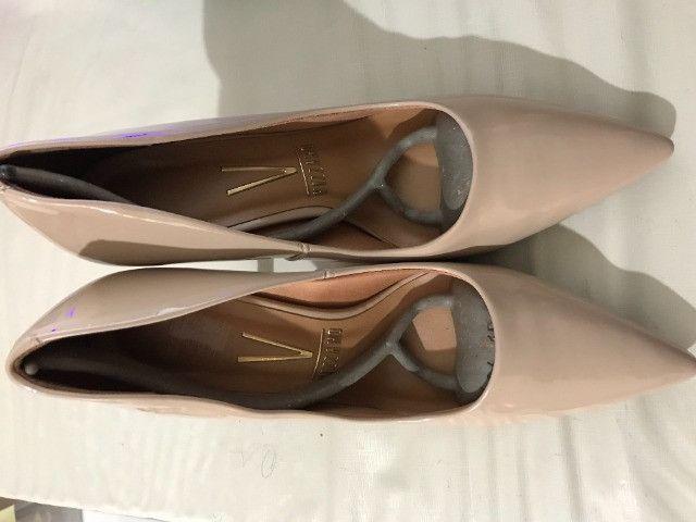 Sapato de salto, cor Nudes n.º 36 -Marca Vizzano