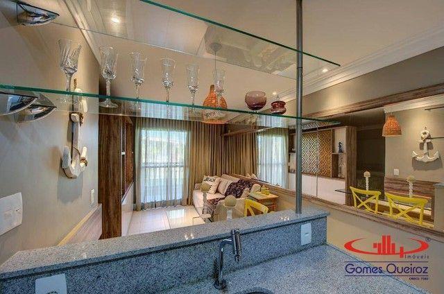 Apartamento todo MOBILIADO com 1 dormitório à venda, 39 m² por R$ 380.000 - Capuan - Cauca - Foto 15