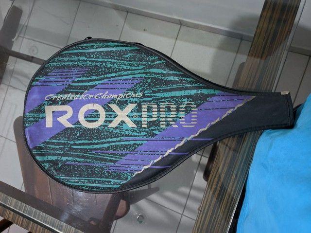 Raquete de tênis rox pro - Foto 3
