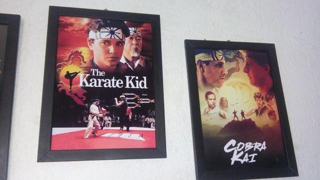 Quadros Karate Kid e Cobra Kai - Foto 3