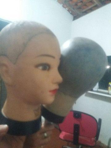 Compro cabeça de silicone - Foto 2