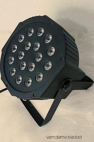 Canhão de luz 18 led