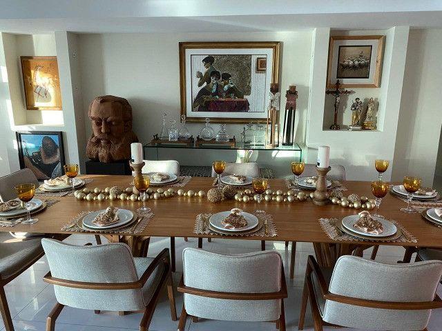 (RBA) Alugo apt. luxuoso, 240m², 3 Suítes, lazer, decorado e mobiliado, vista incrível! - Foto 3