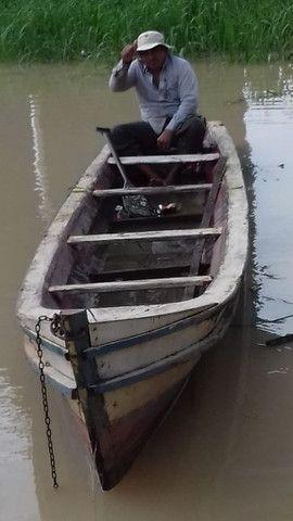 Uma canoa de 7 metro própria para corrida valo de 1500  - Foto 5