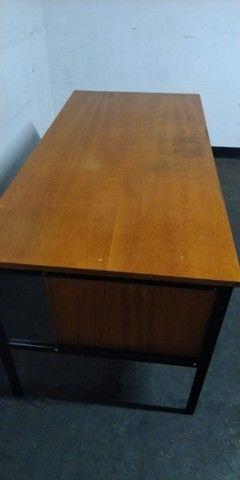 Mesa de Escritório de Madeira Usada - Foto 5