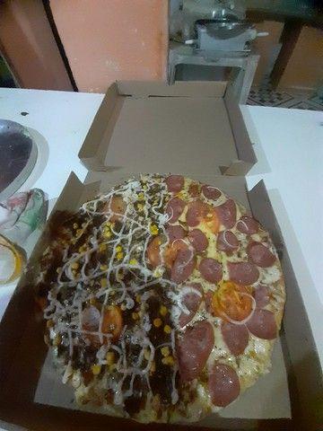 Pizzas G 8 pedaços 25 reais - Foto 5