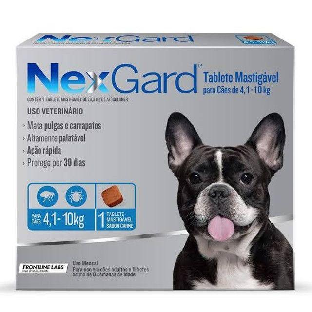 Nexgard para cachorro de 4 a 10kg