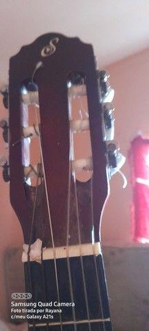 Violão e caixa cubo para violão  e guitarra  - Foto 2