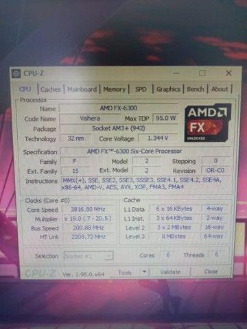 PC Gamer Completo AMD Radeon RX 560 AMD Fx-6300 8GB de Ram  - Foto 6