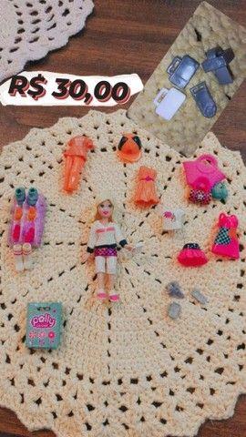 Brinquedos da Polly e seus acessórios - Foto 4