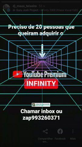 YouTube Premium infinity