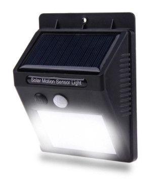 Luminária Autônoma (Sensor de presença, carregamento energia solar) Arandela - Foto 6