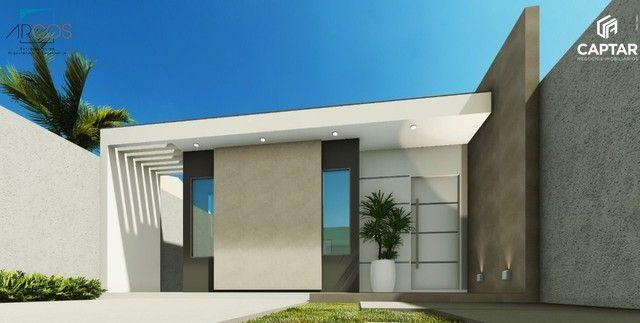 Casa à venda com 2 quartos, sendo 1 suíte, 1 vaga de garagem, murada, toda na laje, portõe - Foto 3