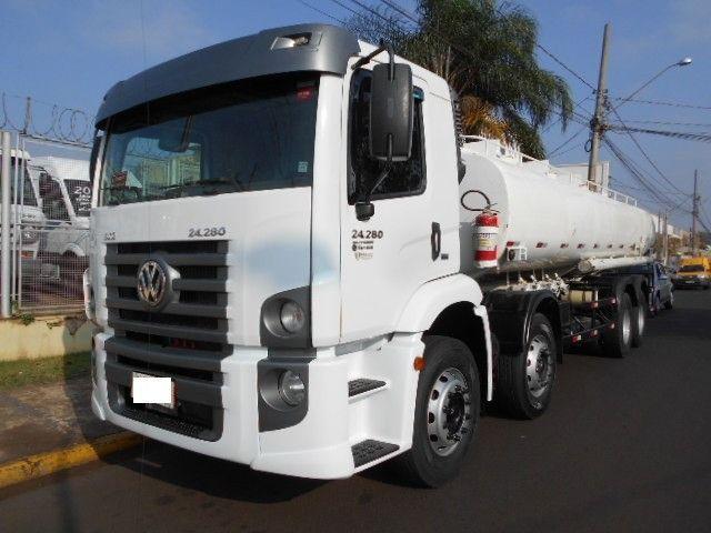 Caminhão Vw 24.280 2012 Branco