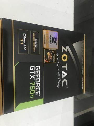 Placa de Vídeo GTX 750TI 2 gigas ## Leiam o anúncio #