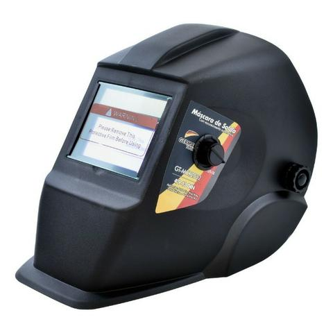 Máscara de Solda Automática com Regulagem escurece sozinha - German Tools (nova na caixa)