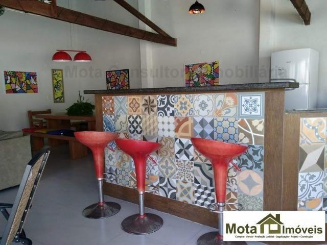 Mota Imóveis - Centro de Araruama Linda Casa 3 Qts com Piscina eÁrea Gourmet. CA-393 - Foto 9