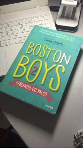Livro Boston Boys