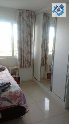 Apartamento com 3 dormitórios à venda, 72 m² por R$ 460.000,00 - Guararapes - Fortaleza/CE - Foto 5