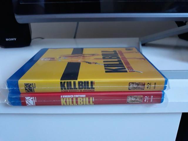 Blu Ray Kill Bill 1 e 2 Filme