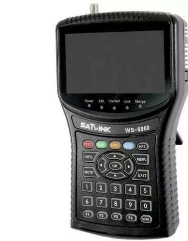 Localizador De Satelite Satlink 6960 Hd Série S