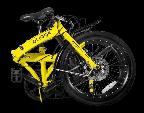 Bicicleta Dobrável Pliage Plus Two Dogs - Foto 4