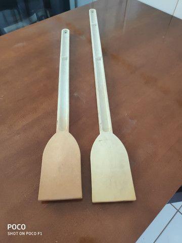 Pá de nylon (remo) 80 cm e 60 cm Solrac