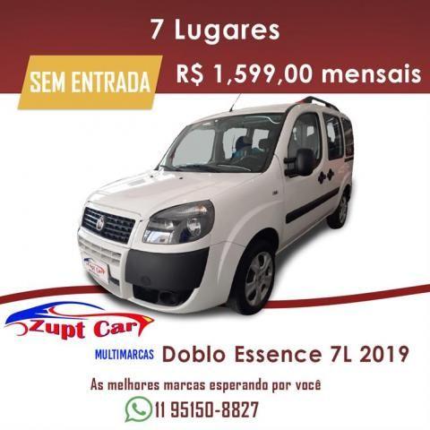 Fiat Doblò Essence 1.8 7L (Flex) Zero entrada Oportunidade Pronto para trabalho
