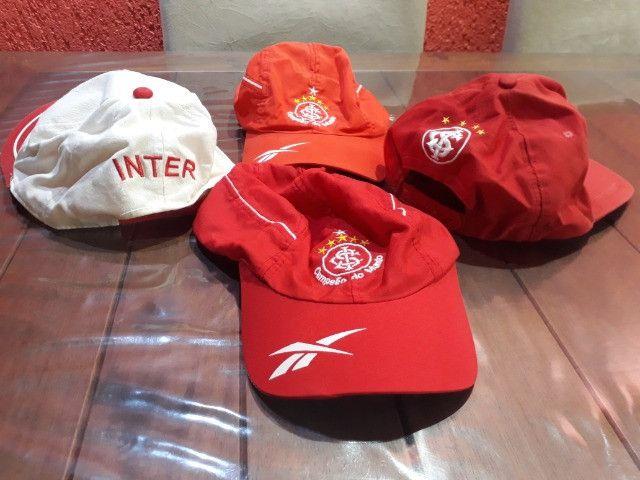 Bonés do Inter