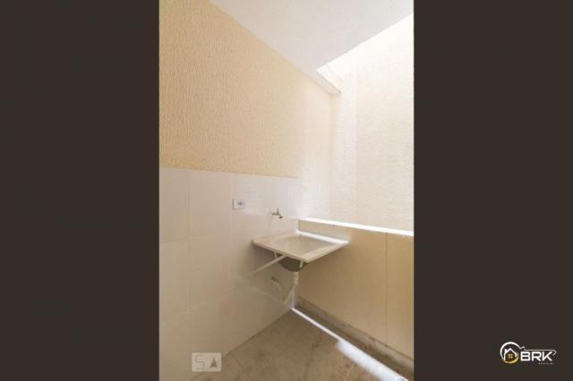 Apartamento para alugar com 1 dormitórios em Vila esperança, São paulo cod:4124 - Foto 3