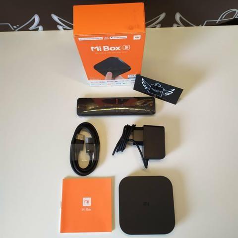 Mi Box S Xiaomi 4K - Chromecast Integrado + Google Assistente - Foto 3