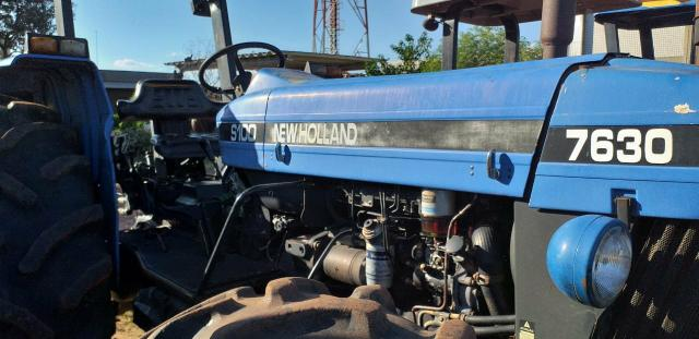 Trator New Holland 7630 4x4 ano 2004/2005 - Foto 5