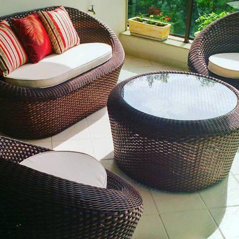 Conjunto de sofá Ninho