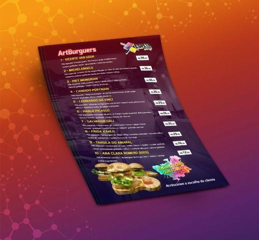 Cardápios para Bares, Restaurantes, Lanchonetes, Hamburguerias e Açaiterias - Foto 4