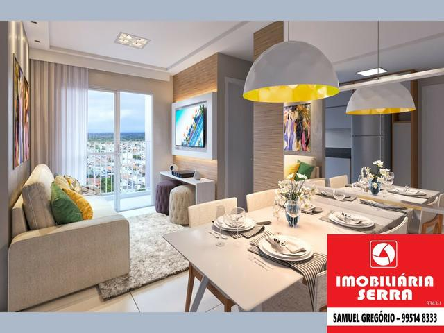 SAM 179 Villa do Mestre - 50m² - 2 quartos c/suite - Entrada facilitada - Foto 2
