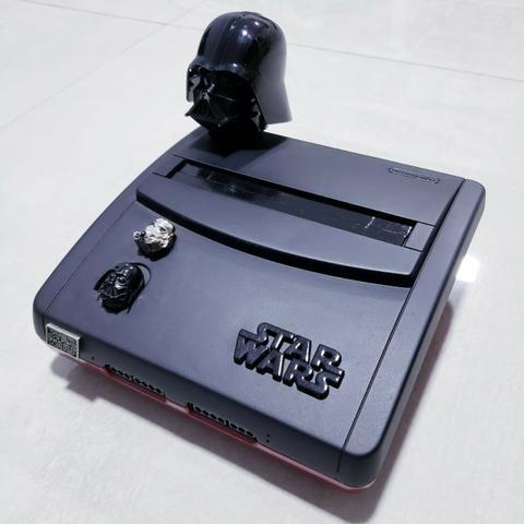"""Super Nintendo personalizado """"Star Wars"""""""