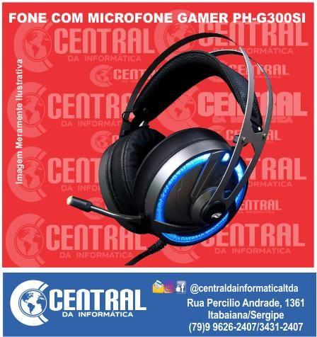 Fone c/microfone Gamer Goshawk PH-G300SI C3T